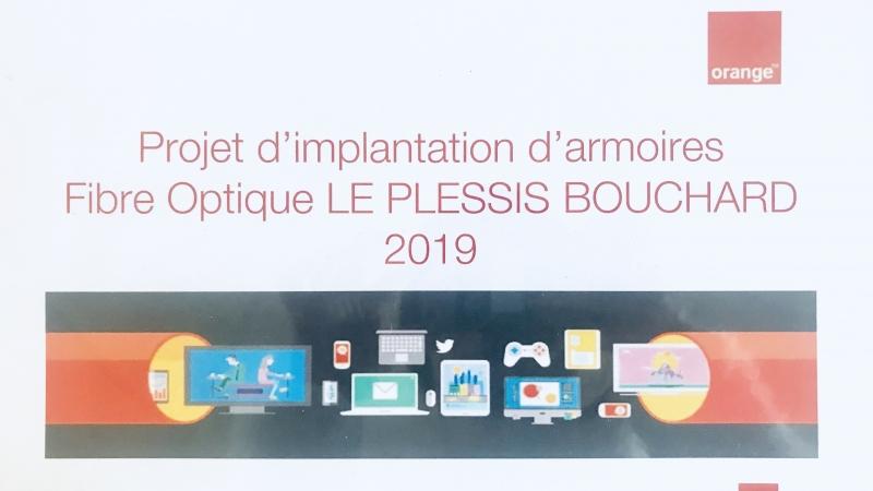 La Fibre Optique Arrive Au Plessis Bouchard